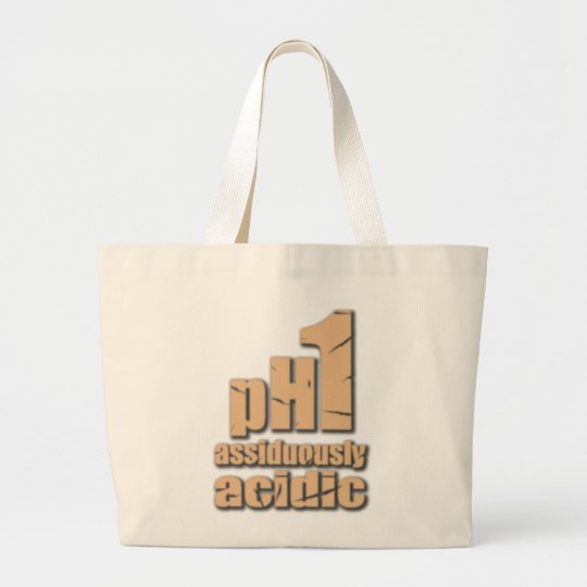 Assiduously Acidic Bisque tote bag