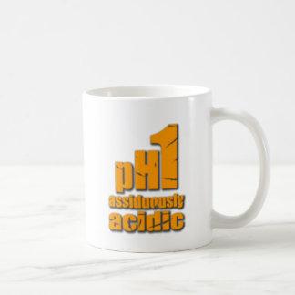 Assiduously Acidic Orange Coffee Mug
