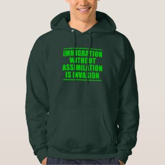 Assimilation Not Multiculturalism Hoodie