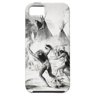 Assiniboin and Cree warriors attack Blackfeet iPhone SE/5/5s Case