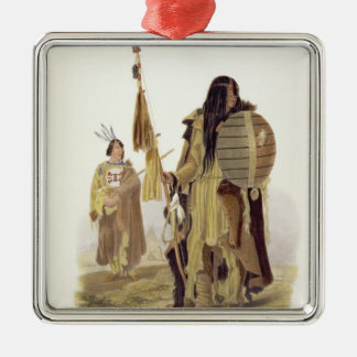 Assiniboin Indians, plate 32 from volume 2 of 'Tra Ornament