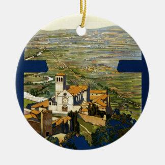 Assisi Ceramic Ornament