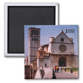 Assisi Imán Cuadrado