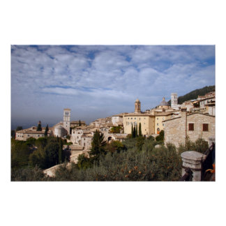Assisi Italy Poster