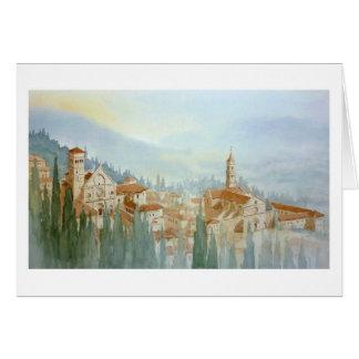 Assisi, Perugia Greeting Card