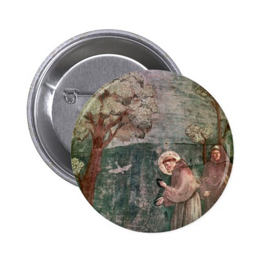Assisi, St Francis and the birds Pin