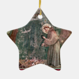 Assisi, St Francis and the birds Ceramic Ornament