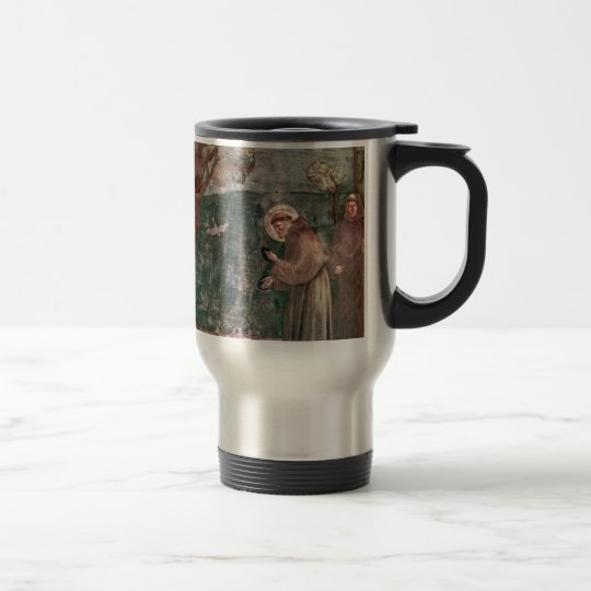 Assisi, St Francis and the birds Travel Mug