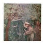 Assisi, St Francis y los pájaros Azulejos Ceramicos