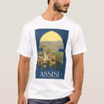 Assisi Travel Poster T-Shirt