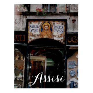 Assisi Umbria Italy Postcard