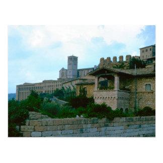 Assisi, upper Basilica Postcard