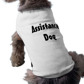 Assistance Dog Dog Tee
