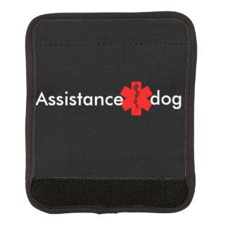 Assistance dog medical alert leash wrap