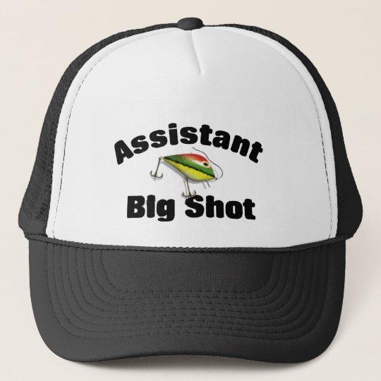 Assistant big shot fishing cap