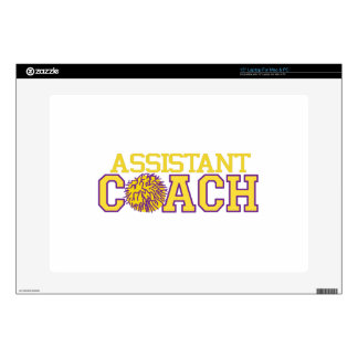 "Assistant Coach 15"" Laptop Decal"