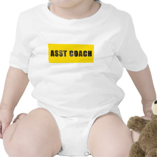 Assistant Coach Chiseled Text Tee Shirts