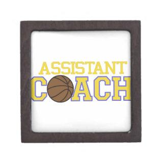 Assistant Coach Keepsake Box