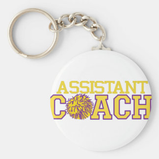 Assistant Coach Keychain