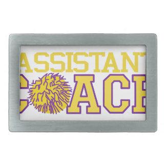 Assistant Coach Rectangular Belt Buckle