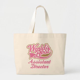 Assistant Director Gift Large Tote Bag