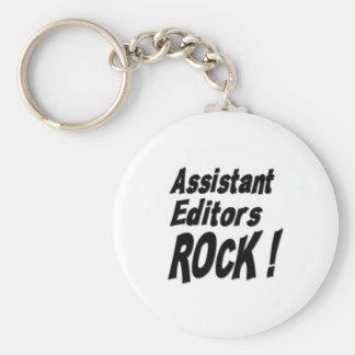 Assistant Editors Rock! Keychain