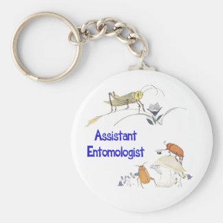 Assistant Entomologist Keychain