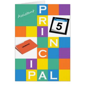 Assistant Principal Greeting Card