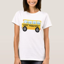 Assistant Principal (School Bus) Gift T-Shirt