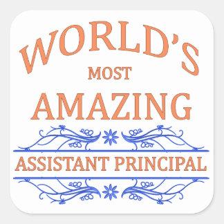 Assistant Principal Square Sticker