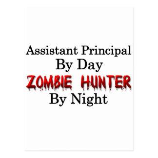 Assistant Principal/Zombie Hunter Postcard