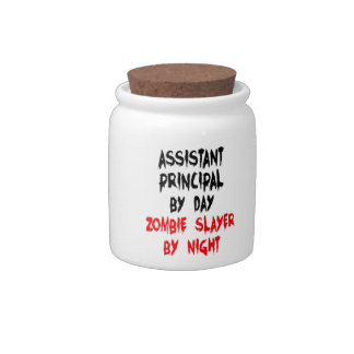 Assistant Principal Zombie Slayer Candy Dish