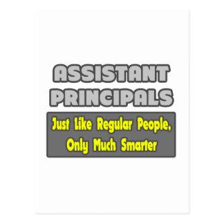 Assistant Principals ... Smarter Postcard