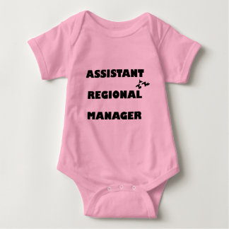Assistant Regional Manager Baby Bodysuit