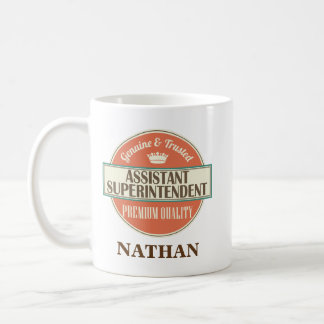 Assistant Superintendent Personalized Mug Gift