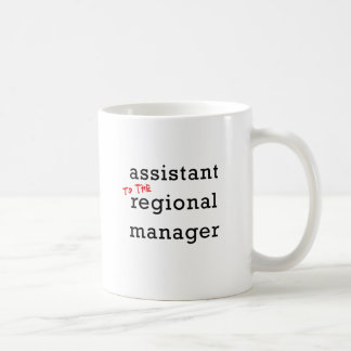 Assistant (to the) Regional Manager Coffee Mug