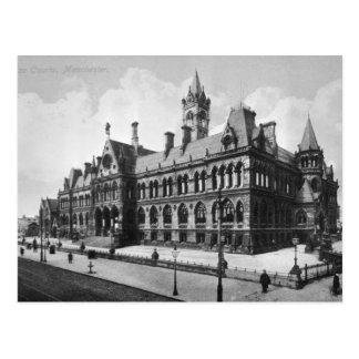 Assize Courts, Manchester, c.1910 Postcard