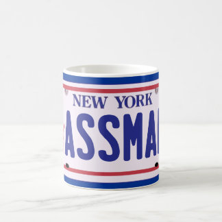 Assman New York License Plate Products Coffee Mug