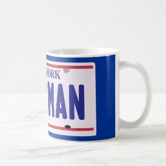 Assman New York License Plate Products Mugs