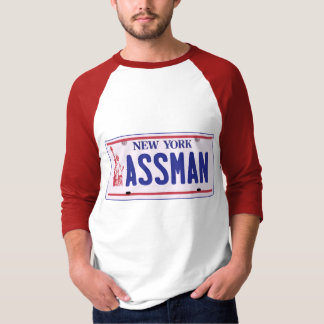 Assman New York License Plate Products T-Shirt