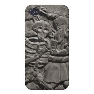 Assoc. de los estudios de la lápida mortuaria iPhone 4/4S funda