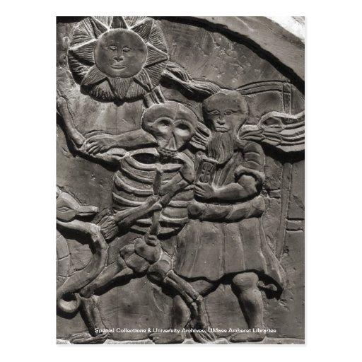 Assoc. de los estudios de la lápida mortuaria tarjetas postales