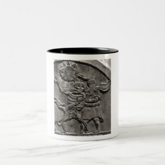 Assoc. de los estudios de la lápida mortuaria taza de café