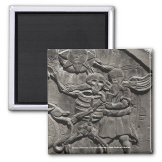 Assoc. of Gravestone Studies 2 Inch Square Magnet