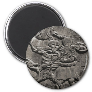 Assoc. of Gravestone Studies 2 Inch Round Magnet
