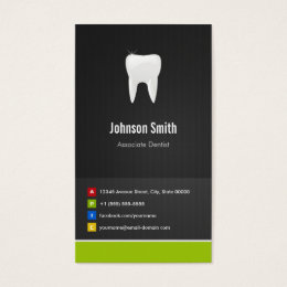 Childrens doctor business cards templates zazzle associate dentist dental creative innovative business card reheart Image collections