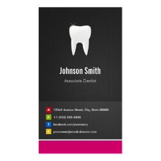 Associate Dentist - Dental Creative Innovative Double-Sided Standard Business Cards (Pack Of 100)