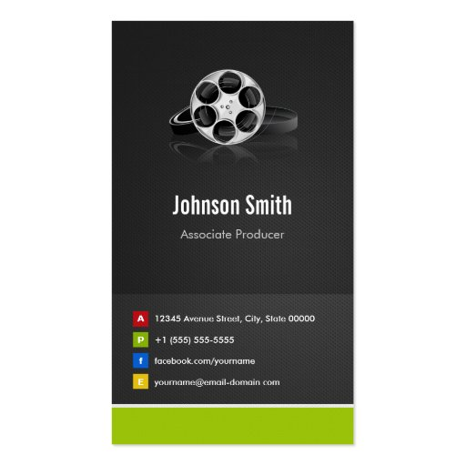 Associate Producer - Premium Creative Innovative Business Cards