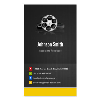 Associate Producer - Premium Creative Innovative Double-Sided Standard Business Cards (Pack Of 100)