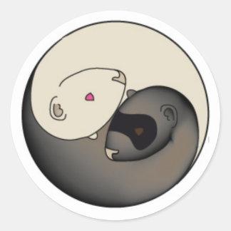 Association 1furet to 1Espoir and its logo Classic Round Sticker